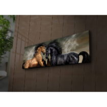 Podsvietený obraz Bradley, 90×30 cm