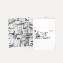 Poznámkový blok U Studio Design Books, 12×17 cm