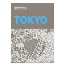 Mapa na poznámky Palomar Transparent City Tokyo