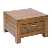 Nočný stolík so zásuvkou z dreva mindi Santiago Pons Ohio