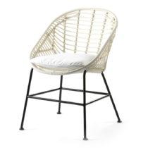 Biela stolička Thai Natura Cushion