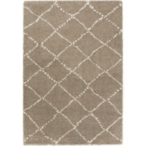 Hnedý koberec Mint Rugs Allure Ronno Brown Creme, 80 x 150 cm