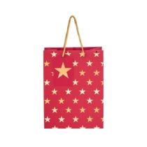 Červená darčeková taška Butlers Hvězdy, v&...