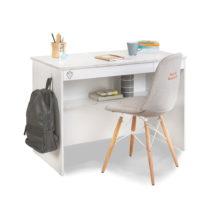Biely pracovný stôl White Study Desk