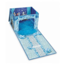 Rozkladací úložný box s hracím domčekom Domo...