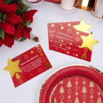 Sada 10 vianočných herných stieracích kariet Neviti Dazzling Ch...