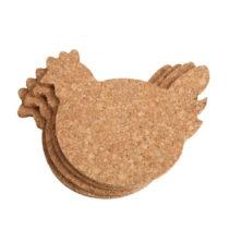 Set 4 podložiek T&GWoodware Chicken