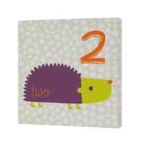 Nástenný obrázok Forest Friends Hedgehog, 27×&#xA0...