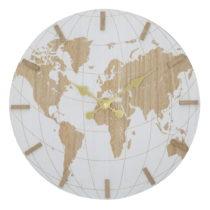 Nástenné hodiny Mauro Ferretti White World, ⌀ 39 cm