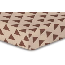 Plachta z mikrovlákna DecoKing Hypnosis Triangles Alma, 180 × 200 cm