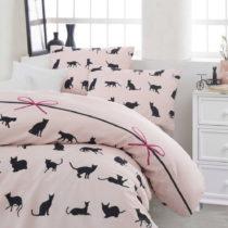 Obliečky s plachtou na dvojlôžko Cats, 200×&#xA0...