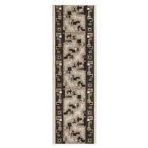 Hnedý behúň s krémovými detailmi Hanse Home Retro, 80&...