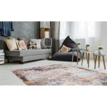 Koberec odolný voči škvrnám Floorita Painting Grey, 80&#xA...
