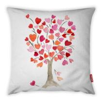 Obliečka na vankúš Vitaus Love Tree Rose, 43×&#x...