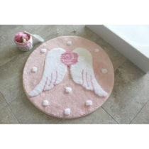 Kúpeľňová predložka Melek Pink, Ø...