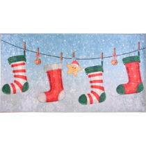 Koberec Vitaus Christmas Socks, 80×150 cm