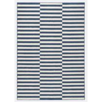 Modro-biely koberec Hanse Home Gloria Panel, 200 x 290 cm