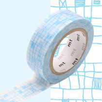 Washi páska MT Masking Tape Victorine, návin10m