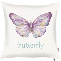 Obliečka na vankúš Apolena Violet Butterfly, 43×&...