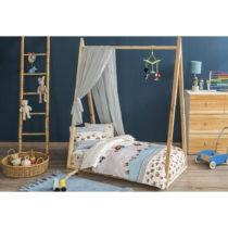 Detské obliečky s plachtou Sleep Well, 100×150 cm