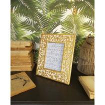 Sada 2 rámčekov z mangového dreva Orchidea Milano Ramage, vý&am...