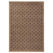 Hnedý koberec Hanse Home Gloria Tile, 80 x 300 cm
