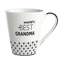 Porcelánový hrnček KJ Collection World's best grandma, 300&am...