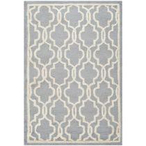 Sivý vlnený koberec Elle 121×182 cm