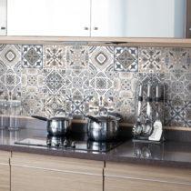 Sada 24 nástenných samolepiek Ambiance Decal Tiles Azulejos Giacomo, 10 ×...