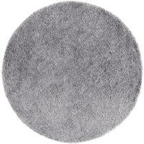 Sivohnedý koberec Universal Aqua, Ø80cm
