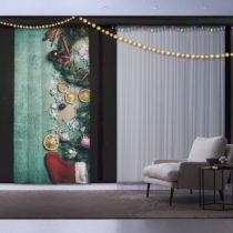 Vianočný záves Christmas Table, 140 x 260 cm