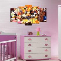 5-dielny obraz Mickey