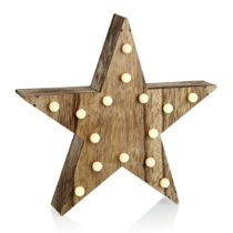 Svietiaca LED dekorácia Markslöjd Hadar Star