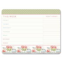 Týždenný plánovač Portico Designs Laura Ashley Tear-O...