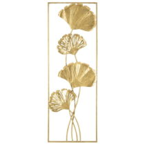 Nástenná dekorácia v zlatej farbe Mauro Ferretti Sabia