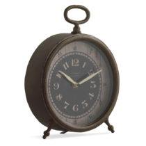 Stolové hodiny v zlatej farbe Geese Old