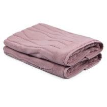 Sada 2 svetloružových uterákov zo 100% bavlny Gartex, 50&#...