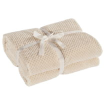 Krémová deka z mikrovlákna DecoKing Henry, 220×&#x...
