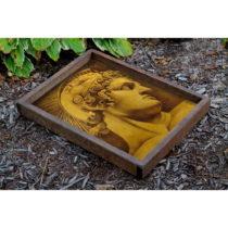 Drevený podnos Patrick Nelly, 40 × 50 cm