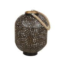 Železná stojacia lampa Santiago Pons Ball, výška 30 cm