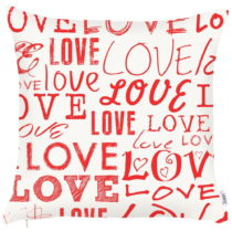 Obliečka na vankúš Apolena Crazy In Love, 43 x 43 cm