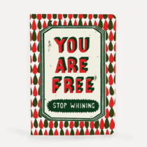 Poznámkový blok U Studio Design You Are Free