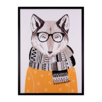 Obraz sømcasa Wolf, 60 × 80 cm