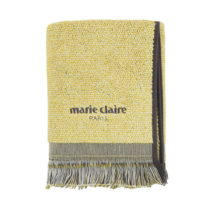 Žltý uterák Marie Claire Colza, 50×90&#...