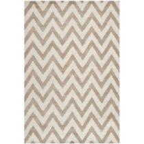 Béžový vlnený koberec Safavieh Stella, 182×&...