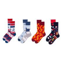Sada 4 párov ponožiek v darčekovom balení Many Mornings Polar,...