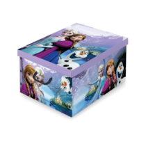 Úložný box s rukoväťami Domopak Living Frozen