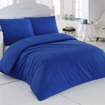 Obliečky s plachtou Plain Blue,200x220cm
