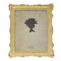 Fotorámik v zlatej farbe Mauro Ferretti Linear, 20 × 25 cm
