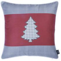 Červeno-sivá obliečka na vankúš Apolena Honey Tree, ...